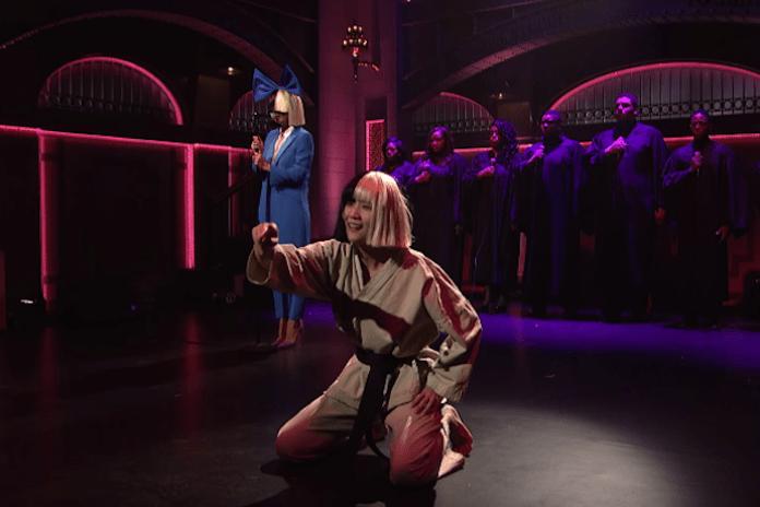 Watch Sia's Performance on Saturday Night Live