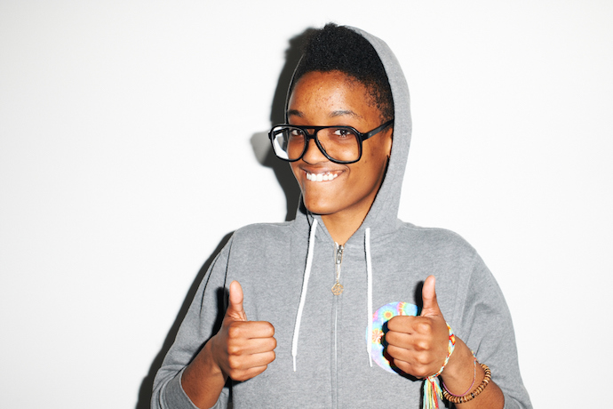 "Syd tha Kid Shares New Song ""Smile More"""