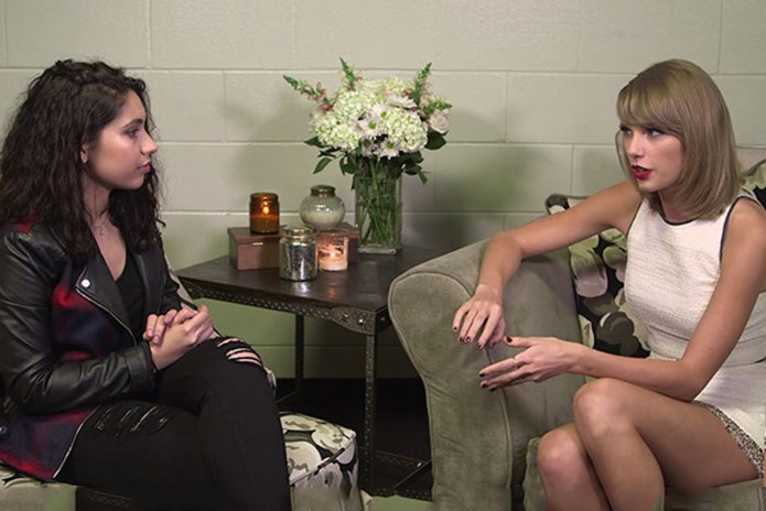 Taylor Swift Interviews Alessia Cara