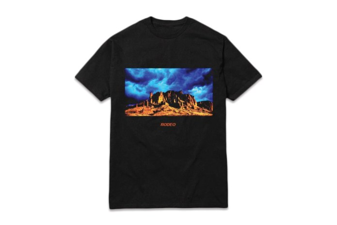 Check Out Travis Scott's New Tour Tees
