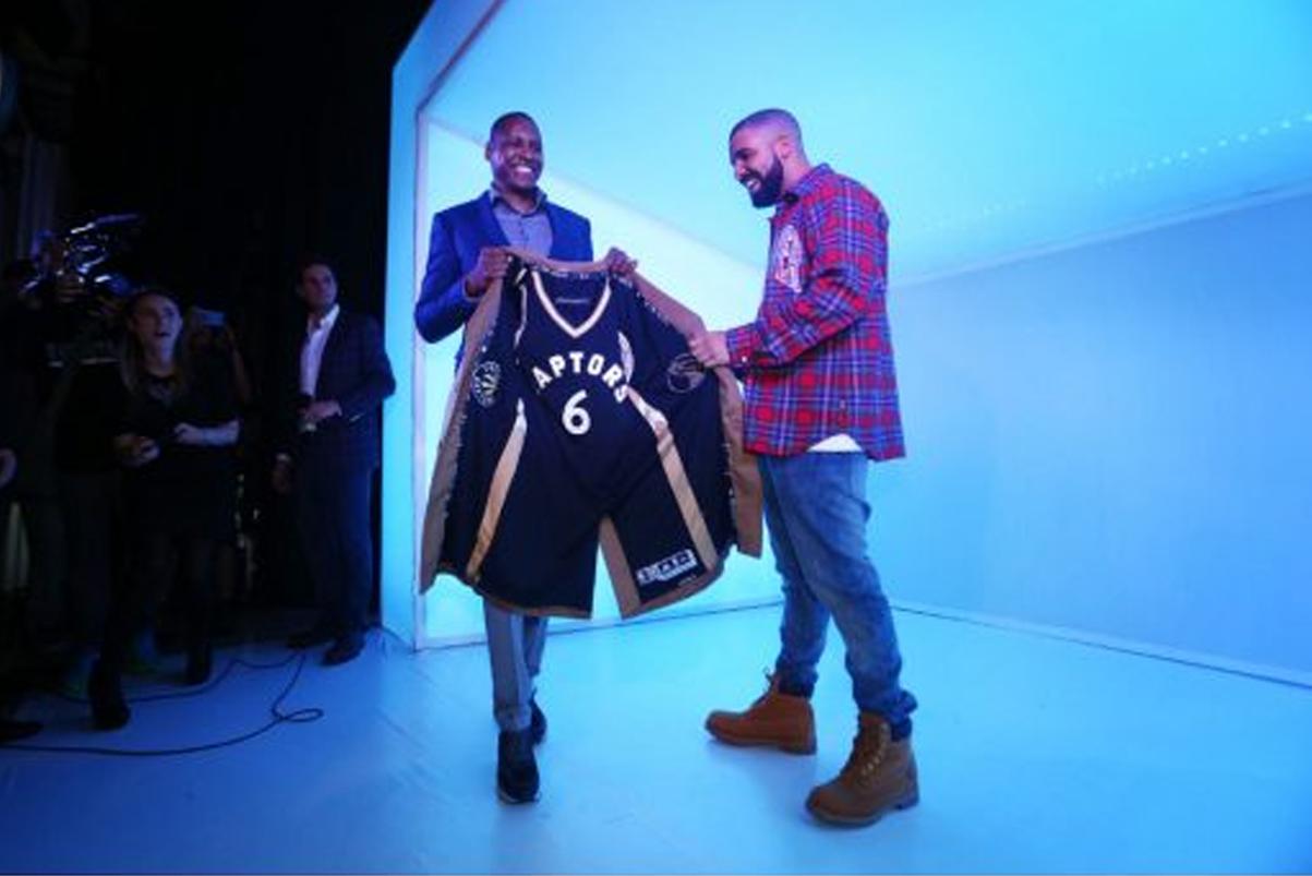 Watch Drake Announce the Toronto Raptors for 'Drake Night'