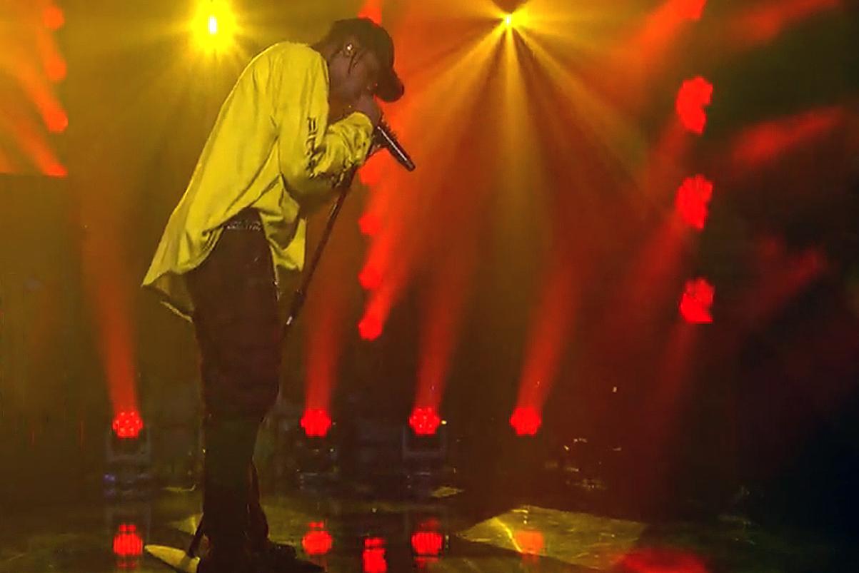 """Watch Travis $cott Perform """"Antidote"""" & """"Pray 4 Love"""""""