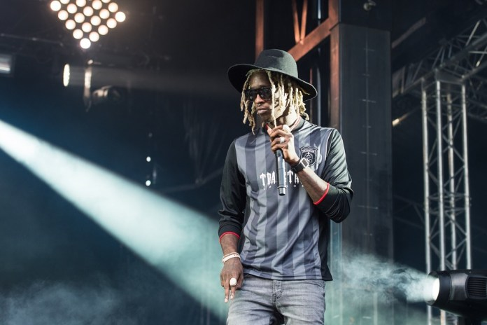 Young Thug featuring Trouble - Thief In The Night