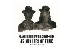 "Stream Peanut Butter Wolf and Dam-Funk's ""45 Minutes of Funk"" Mix"