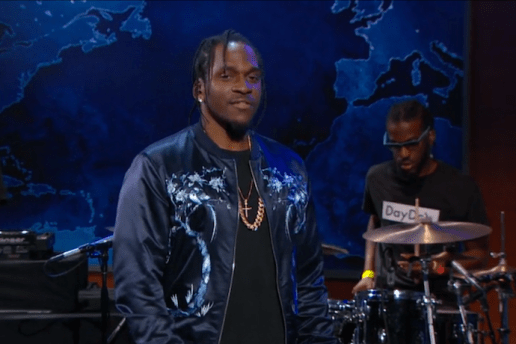 Pusha T Just Debuted a New Song on The Daily Show