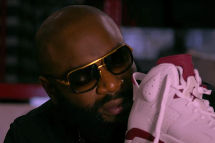 Watch Rick Ross Go Sneaker Shopping in Los Angeles