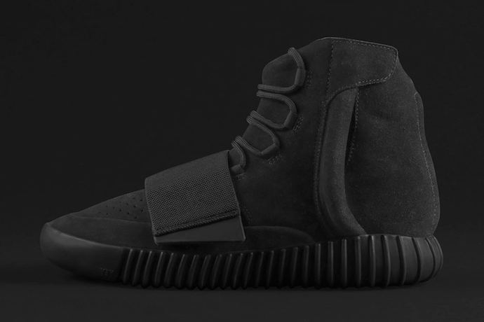 Kanye West's All-Black Yeezy Boost 750 Is Officially Confirmed