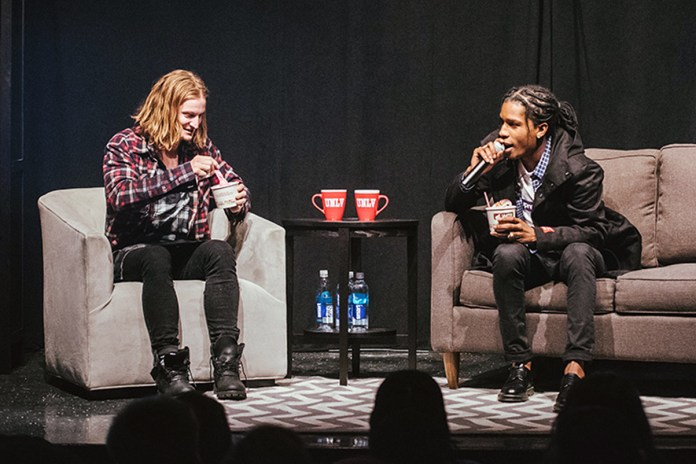 A$AP Rocky Was a University Professor For a Day