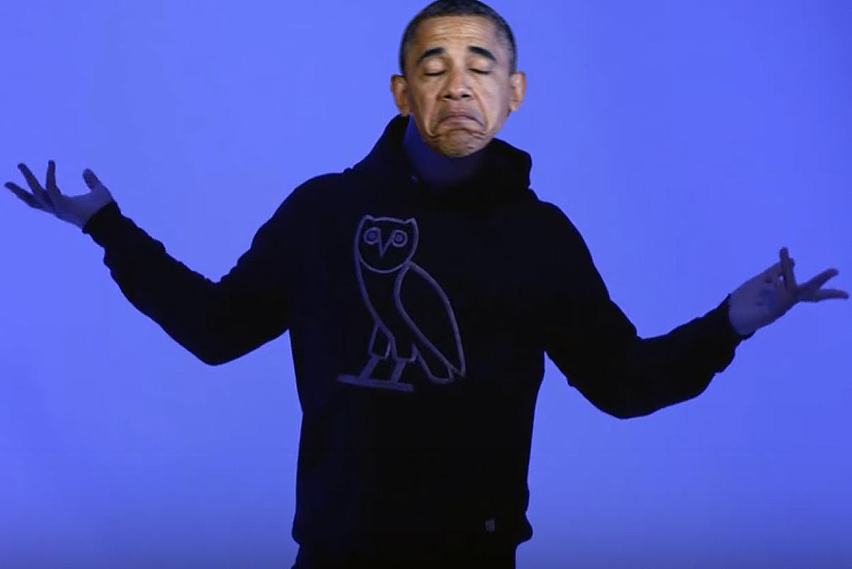 "Barack Obama Sings Drake's ""Hotline Bling"" in Impressive Mashup"