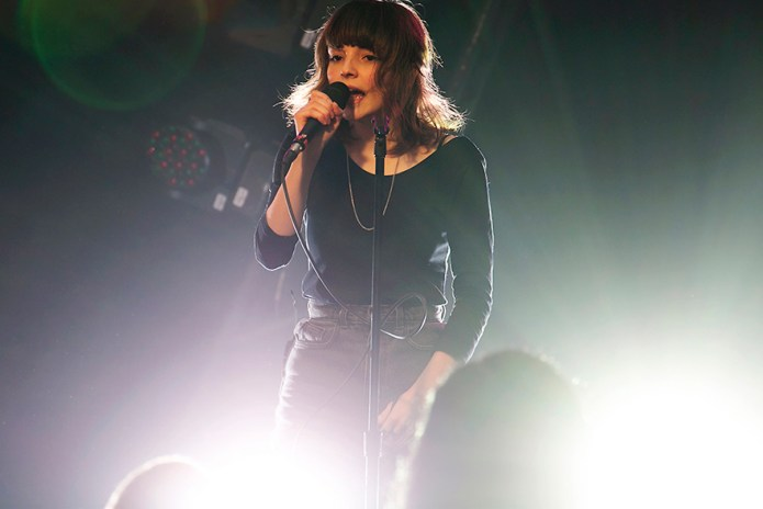 CHVRCHES Transform Tacky Teenage Poetry Into Full Song