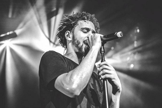"J. Cole Joins Bas on ""Night Job"""