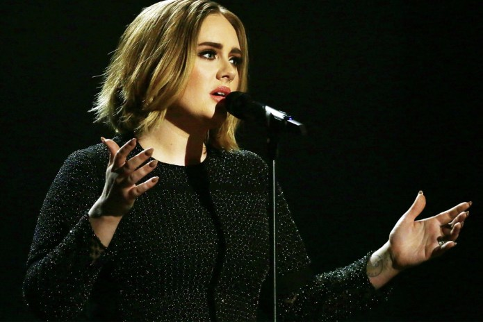 "Adele's ""Hello"" Gets Knocked Off the No. 1 Spot"