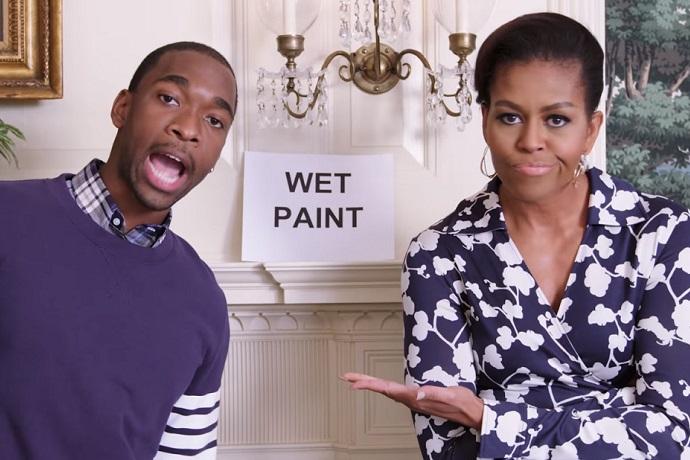 Michelle Obama & SNL's Jay Pharoah Got Bars