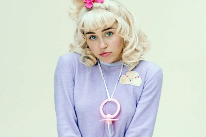 """Miley Cyrus is a Baby in Her New Video for """"BB Talk"""""""