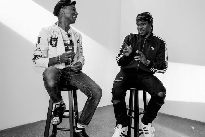 Preview a Collaboration Between Pusha T & Pharrell