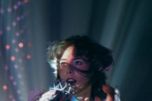 """Purity Ring Perform in a Cave Full of Lights for """"heartsigh"""" Visual"""
