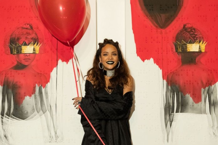 Rihanna Is Finally Releasing Her New Album 'Anti' Tomorrow
