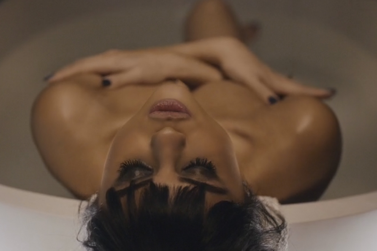 "Selena Gomez Strips Down For Her ""Hands To Myself"" Video"