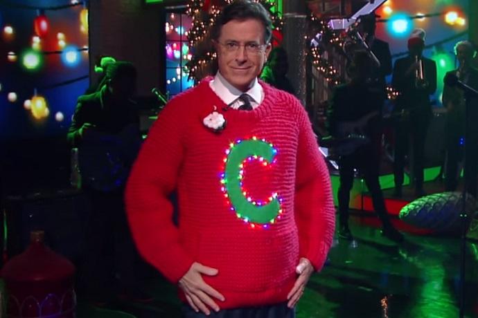 Stephen Colbert & Henry Rollins Angrily Sang Christmas Music Together