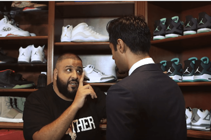 DJ Khaled Offers Life Advice and Shows off His Sneaker Collection on 'The Daily Show'