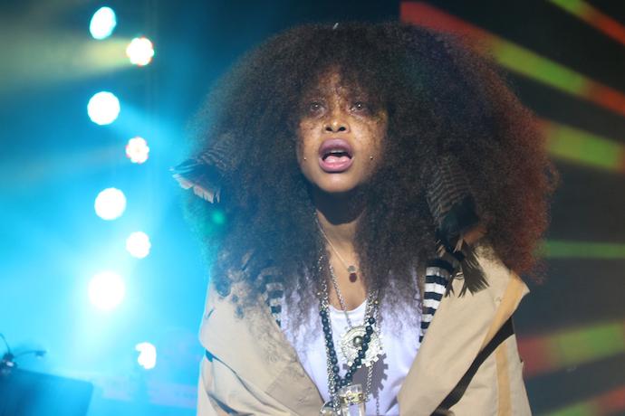 "Erykah Badu Remixes Kanye West, Shares ""Trill Friends"" (Real Friends Remix)"