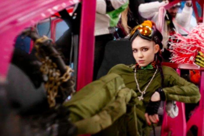 "Grimes Shares Self-Animated Video for ""Kill V. Maim"""