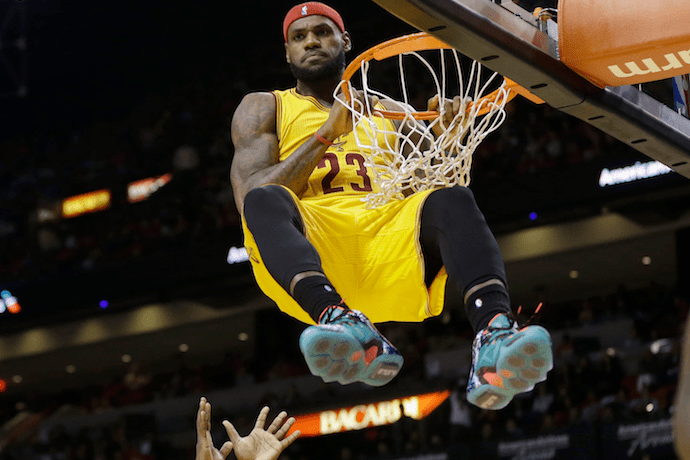 """Lebron James Responds to Kanye West's Nike Diss Track """"Facts"""""""