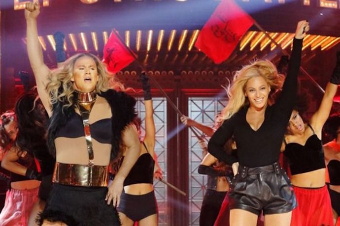 "Beyonce ""Runs the World"" With Channing Tatum in Epic 'Lip Sync Battle'"