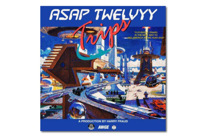 "ASAP Twelvy and Harry Fraud Connect on ""Trips"""