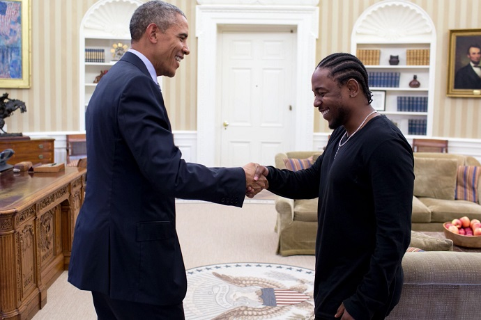 Barack Obama Chooses Between Kendrick Lamar & Drake