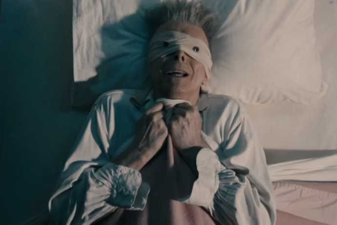 "David Bowie's New Video for ""Lazarus"" Is Intense"