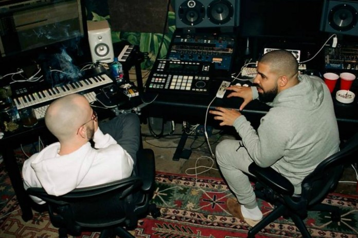 Drake Posts More Studio Photos