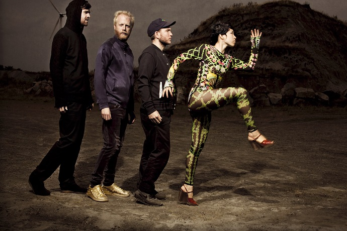 "Little Dragon Return with New Remix of Emma Louise's ""Underflow"""
