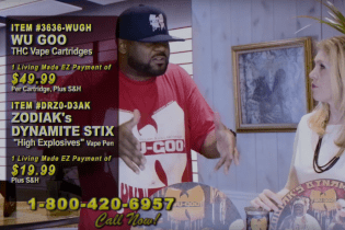 "Watch Ghostface's Infomercial for His New Marijuana Concentrate ""Wu Goo"""