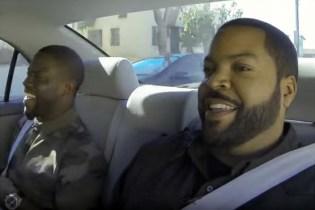 Ice Cube, Conan O'Brien & Kevin Hart Assist Student Driver