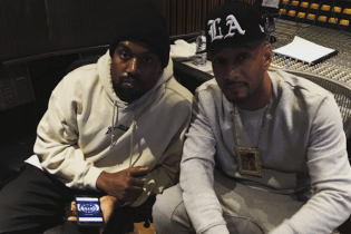 Kanye West and Swizz Beatz Are in the Studio