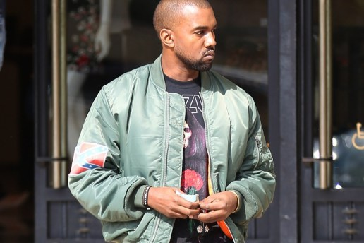 "Alpha Industries ""MA-1 Bomber Jacket"" Sales are Booming Thanks to Kanye West"