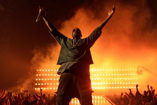 "Kanye West Unveils ""No More Parties In LA"" Artwork, Says It Drops ""Very Very Extremely Soon"""
