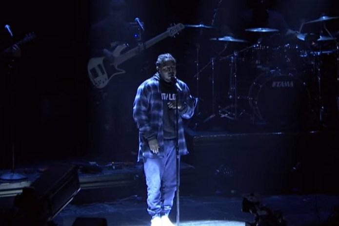 Kendrick Lamar Debuts New Song on 'Jimmy Fallon'
