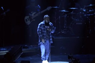 Kendrick Lamar Debuts New Song on 'Jimmy Fallon'