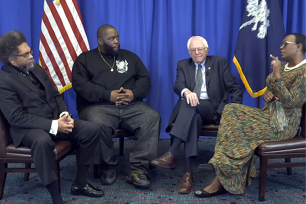 Killer Mike & Bernie Sanders Discuss Martin Luther King, Jr.'s Legacy