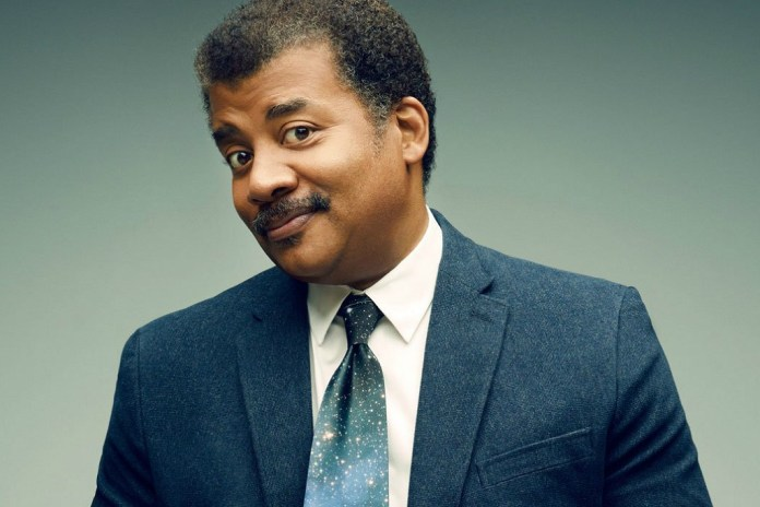 Neil deGrasse Tyson (Literally) Drops the Mic on B.o.B