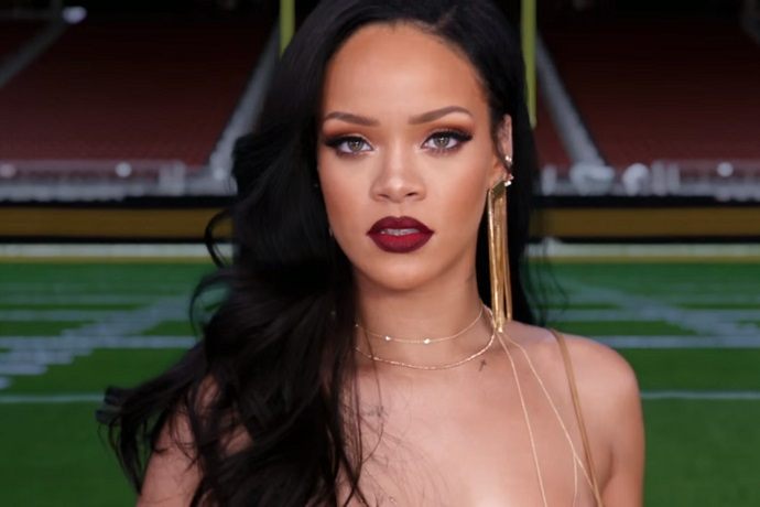 Rihanna & Stephen Colbert Star in Promo for Super Bowl & Grammys