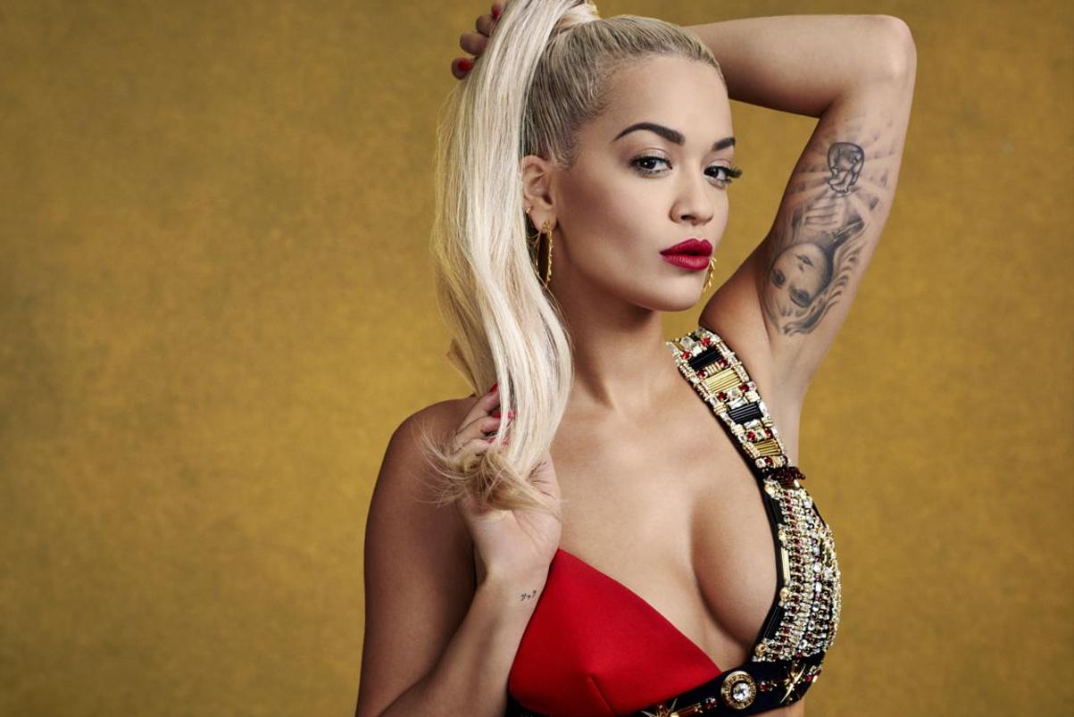 Rita Ora Goes Topless (NSFW)