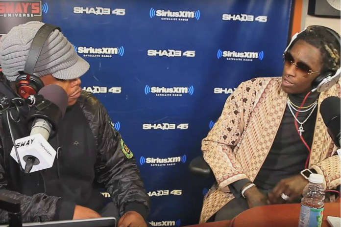 Young Thug Gets Interviewed by Sway