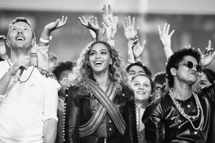 Watch The Super Bowl 50 Halftime Show Featuring Coldplay, Beyoncé & Bruno Mars