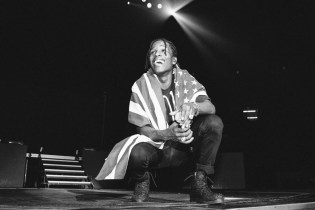 """A$AP Rocky Brings Raury Onstage to Perform """"L$D"""""""