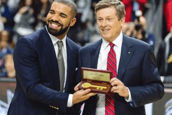 Watch Drake Receive The Key To Toronto