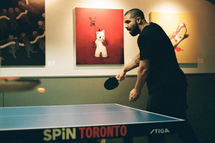 Drake to Battle Reggie Miller in Ping-Pong at NBA AllStar Weekend 2016