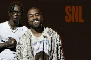 Kanye West Brings Out Young Thug, The-Dream, El DeBarge, Chance the Rapper, and More on 'SNL'